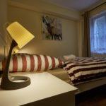 Obývací část s ložnicí apartmánu Lanovka 28