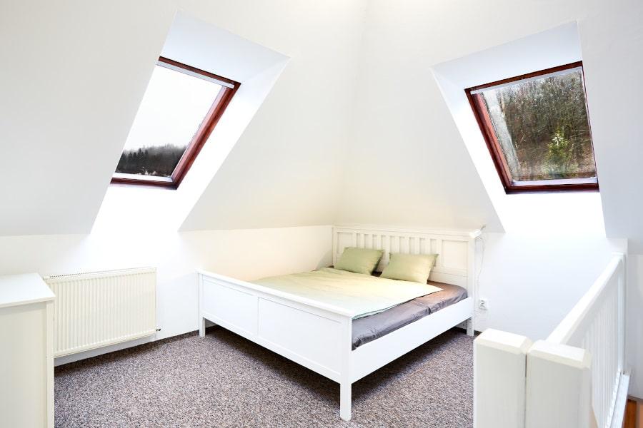 Ložnice apartmánu PORT JÁCHYMOV